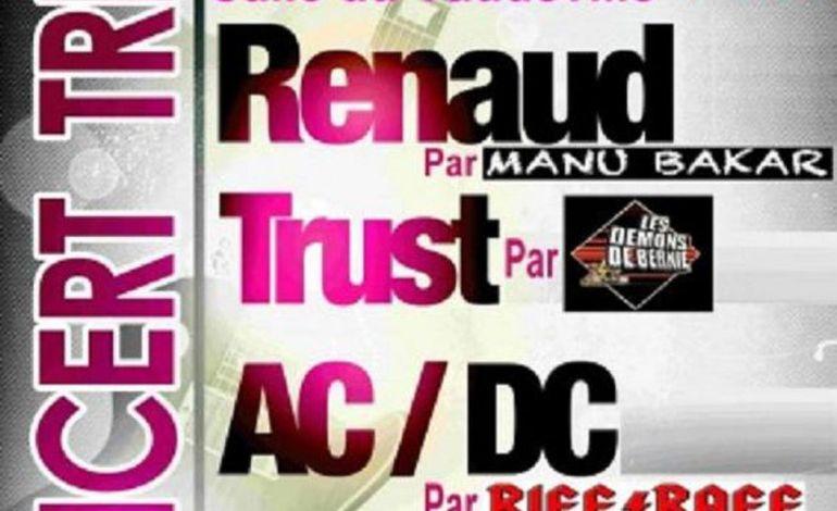 Concert Tribute to Téléphone, Renaud, Trust et AC/DC à Vire
