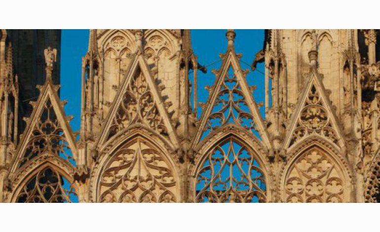 Le 13 heures de TF1 met la cathédrale de Rouen à l'honneur