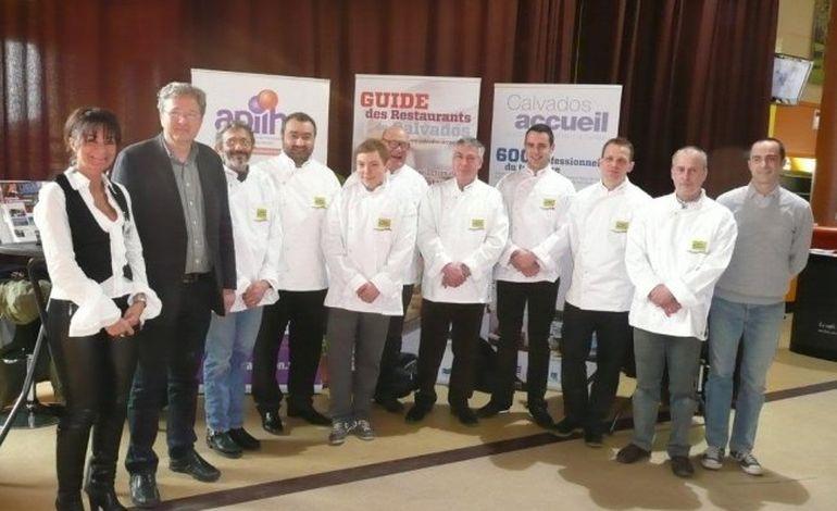 Quatre nouveaux chefs caennais promus Maîtres restaurateurs