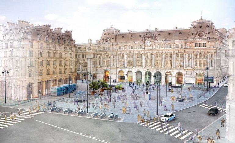 Rénovation de la gare Saint-Lazare : la touche finale