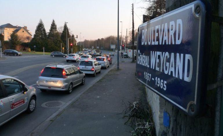 Boulevards à Caen : Jean Moulin remplacera le Général Weygand