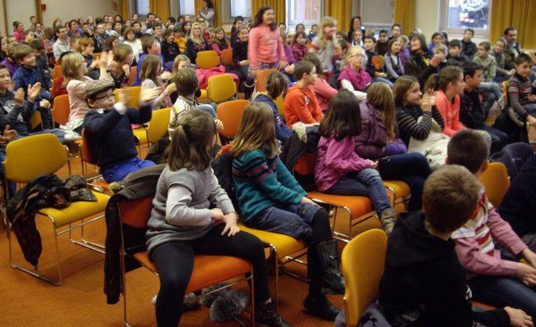 200 écoliers à la chambre de métiers de l'Orne
