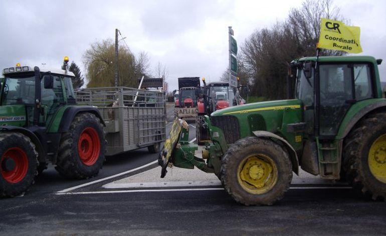 Agriculture : opération coup de poing dans l'Orne