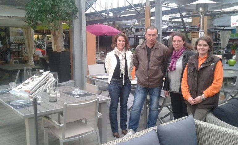 Katia Moreau remporte un salon de jardin avec Tendance Ouest