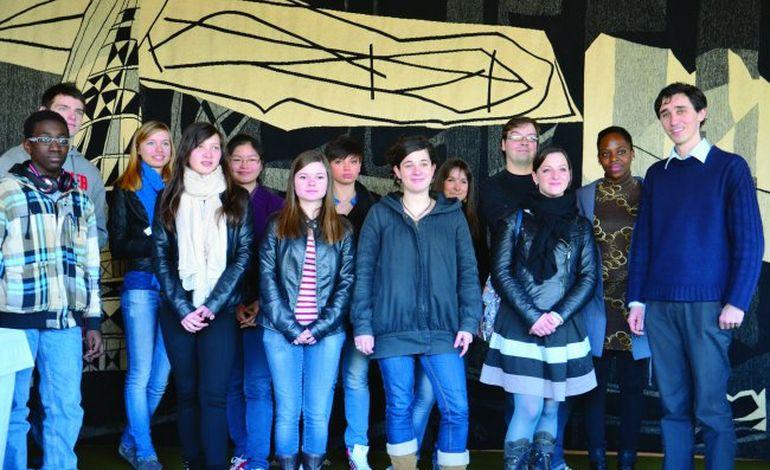 Etudiants-lycéens caennais : le tutorat des Cordées de la réussite