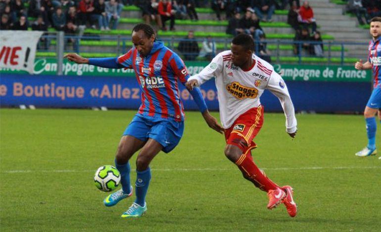 CAEN-LENS (0-0) : Malherbe manque encore le coche