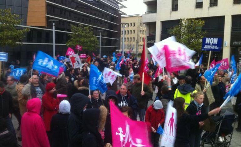 Manifestation surprise  à Caen samedi contre le mariage gay