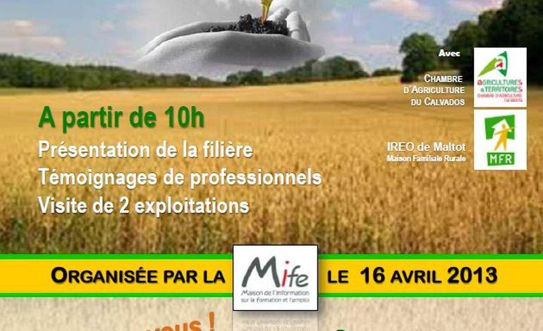 Journée découverte des métiers de l'agriculture à Hérouville Saint Clair