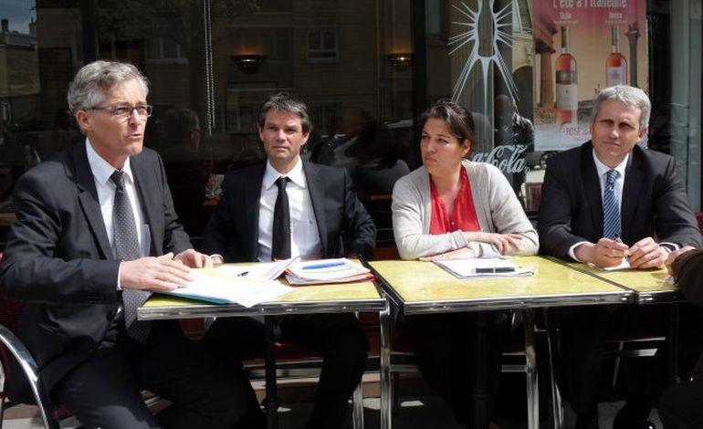 A Caen, l'opposition se rassemble autour du tramway