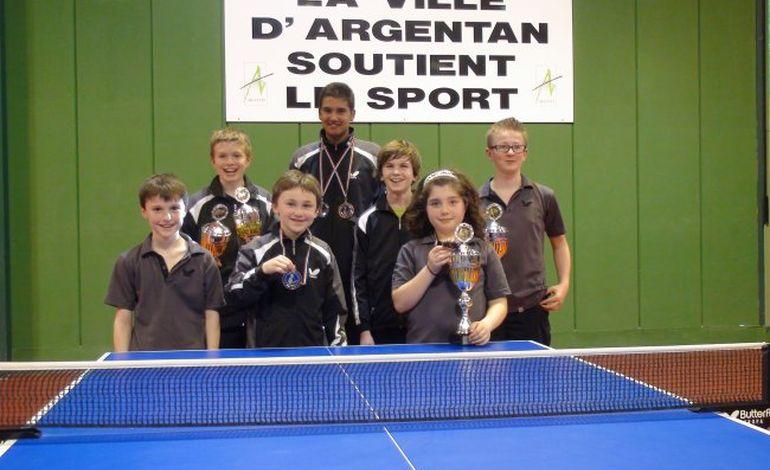Tennis de table : la Bayard Argentan, n°1 pour les jeunes