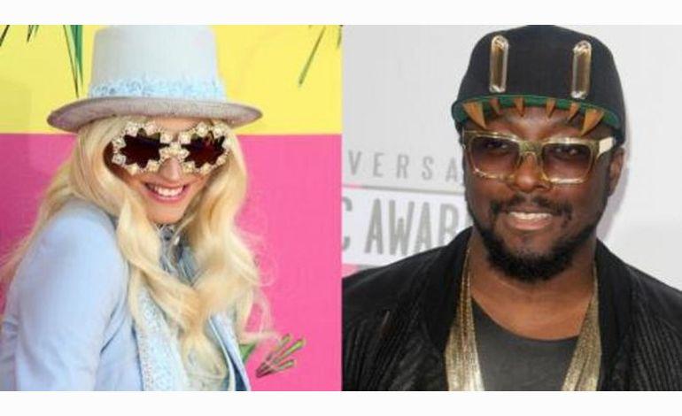 Ke$ha et Will.i.am, les deux