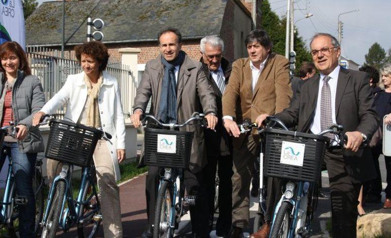 Une nouvelle piste cyclable à Bois-Guillaume-Bihorel