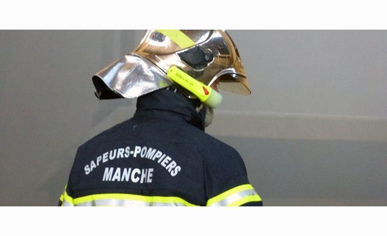 Feu d'appartement à Saint-Lô : 4 policiers intoxiqués