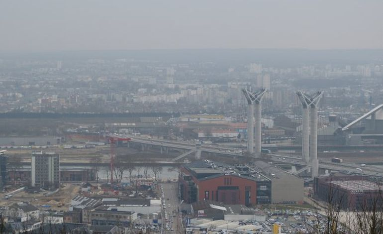 Pollution : Rouen,