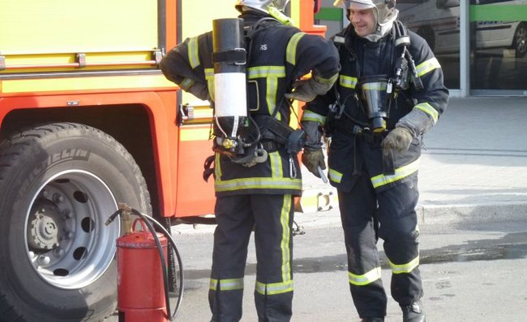 Le sous-sol du lycée Paul Cornu s'enflamme à Lisieux
