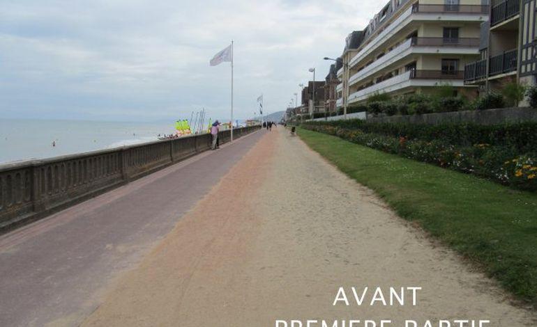 Cabourg : la promenade Marcel Proust en travaux