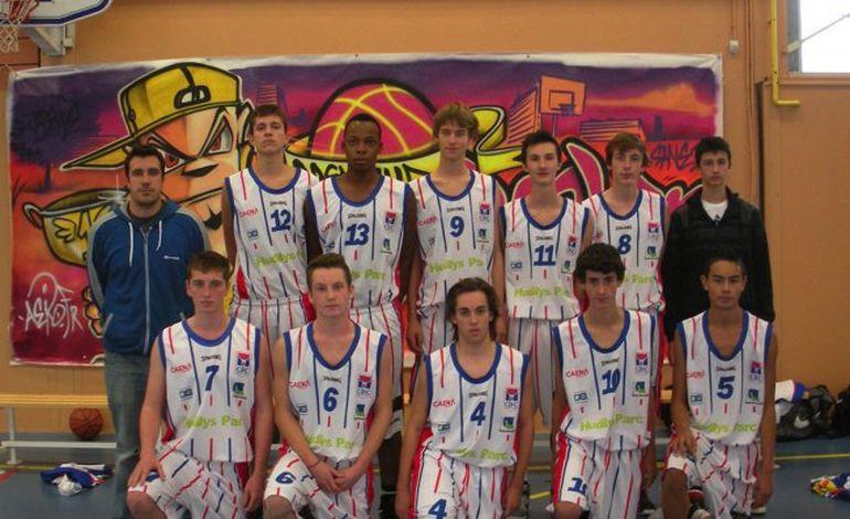 Basket : les cadets caennais accèdent au plus haut niveau