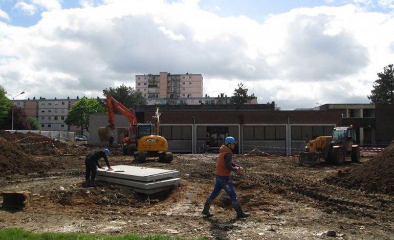 Mont-Saint-Aignan : Marc Sangnier, le grand chantier débute enfin