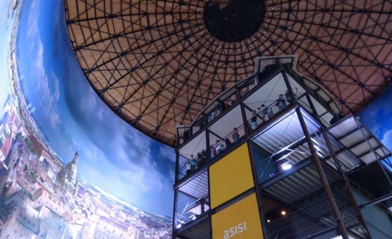 Panoramas d'Asisi à Rouen : un projet touristique géant unique en France