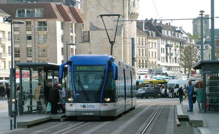 Caen privé de tram !