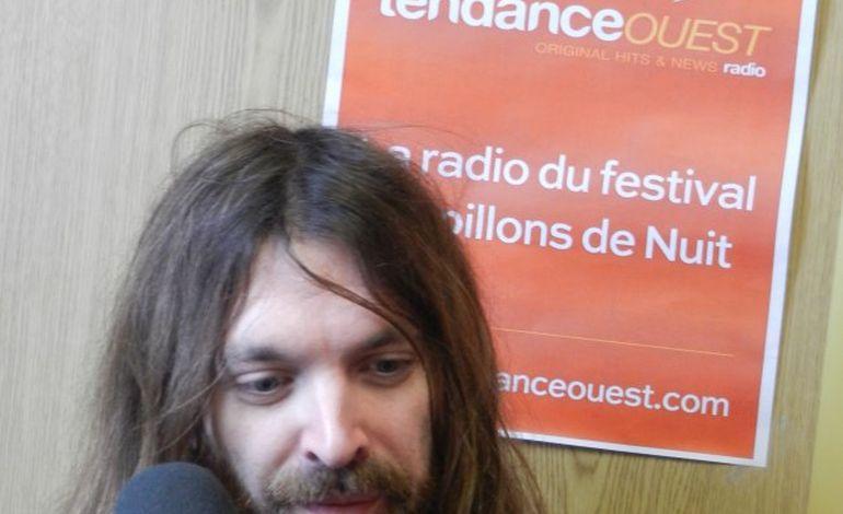 Breakbot en interview au festival Papillons de Nuit
