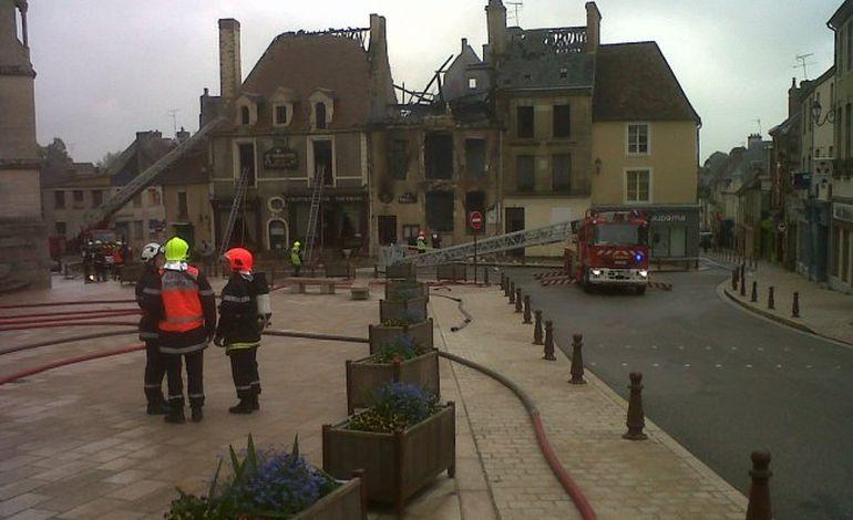 Sées : un octogénaire tire sur son gendre et met le feu à l'hôtel Au Normandy