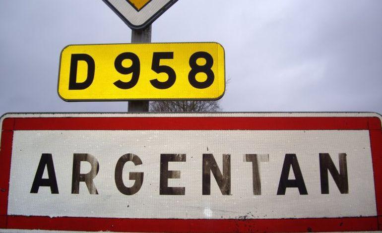 Loïc Letellier au départ des 10 km d'Argentan