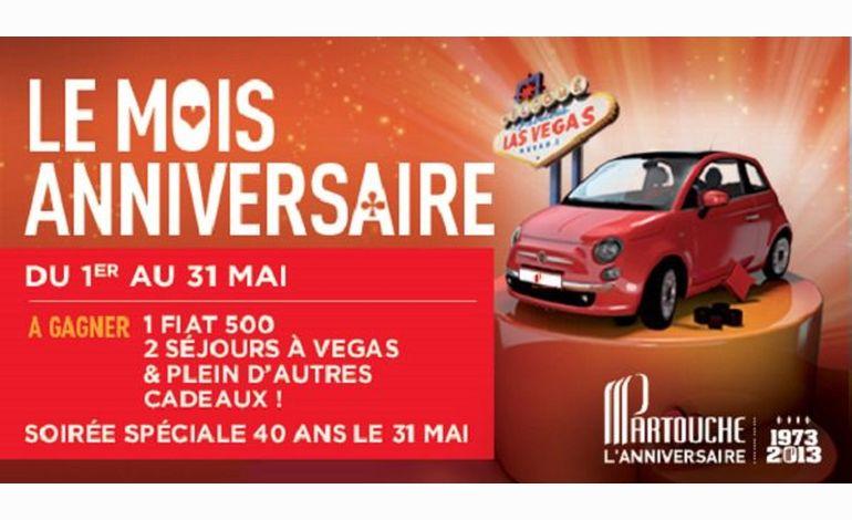 Le mois anniversaire des 40 ans au casino d'Agon-Coutainville