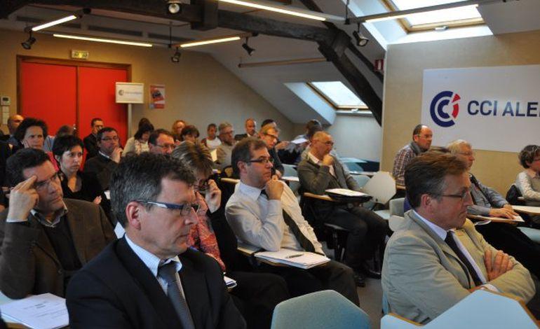 CCI Alençon : les entrepreneurs s'informent sur les financements
