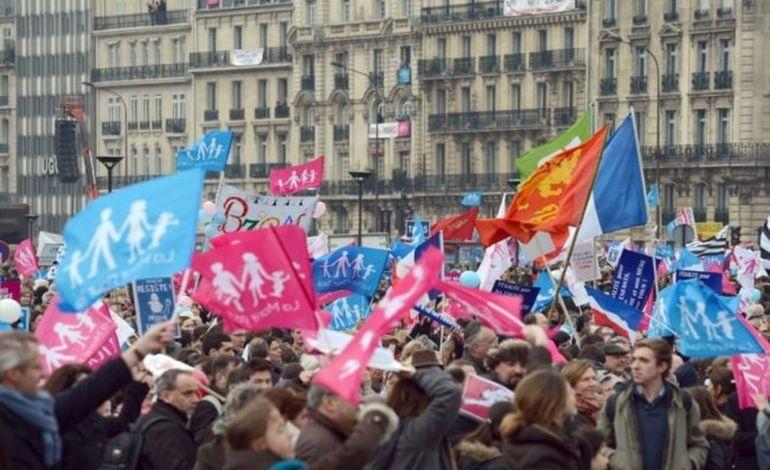 Rouen : les opposants au mariage pour tous à Rouen ont