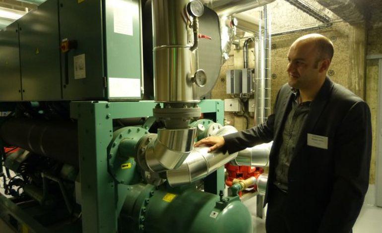 Cherbourg : 1300 logement chauffés... à l'eau de mer !