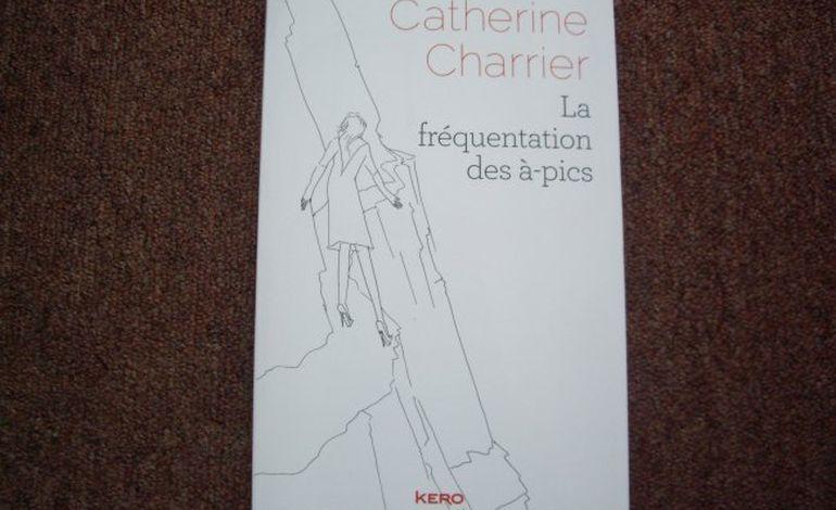 Catherine Charrier, auteure Alençonnaise, au Salon du livre d'Alençon