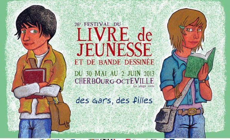 26e festival du livre de jeunesse et de la BD à Cherbourg
