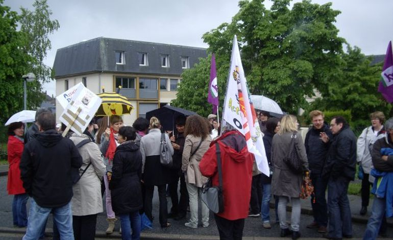 Alençon: manifestation de