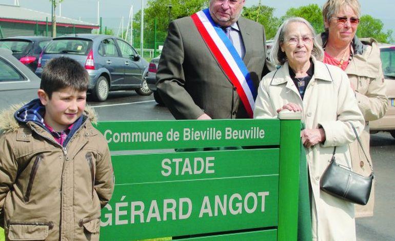 A Biéville-Beuville, le nouveau complexe sportif inauguré