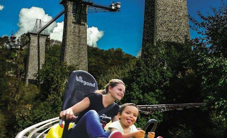Découvrez la luge sur rail au viaduc de la Souleuvre
