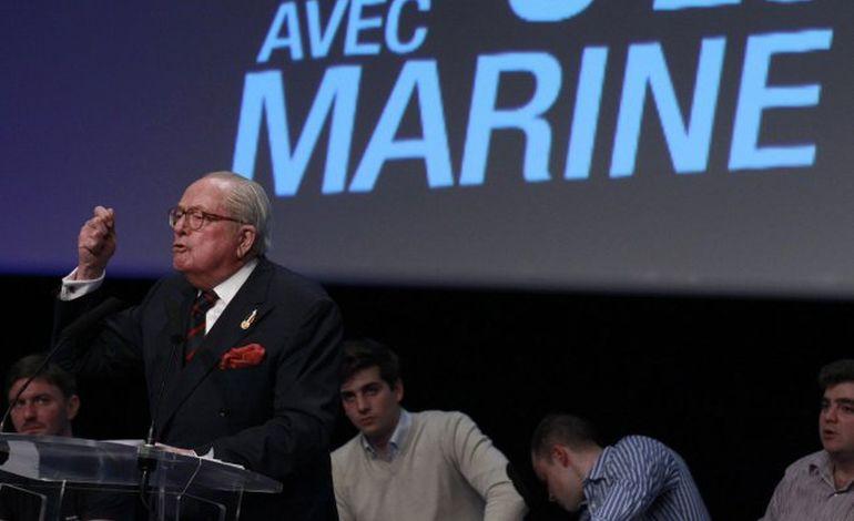 Jean-Marie Le Pen attendu dans la Manche le 8 juin