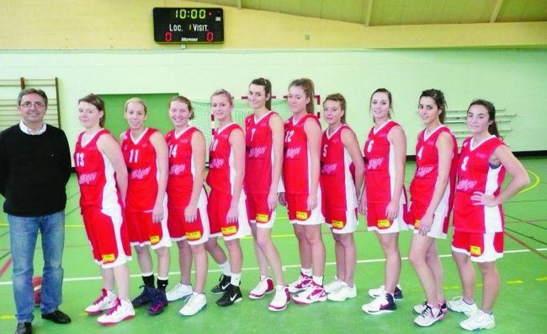 Les filles d'abord au Caen Basket Nord