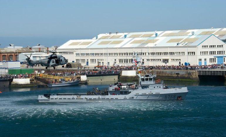 8500 visiteurs aux portes ouvertes de la Marine à Cherbourg