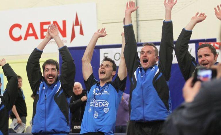 Tennis de table : le titre et la montée en Pro A pour Caen