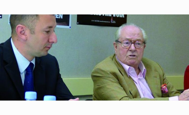 Dans la Manche, Jean-Marie Le Pen  est revenu sur la mort de Clément Méric