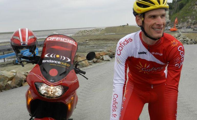 Julien Fouchard reconnaît le contre-la-montre du Tour de France