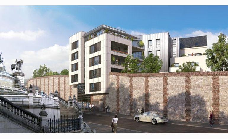 Rouen 55 logements vont voir le jour dans l 39 ancien couvent for Alain elie architecte