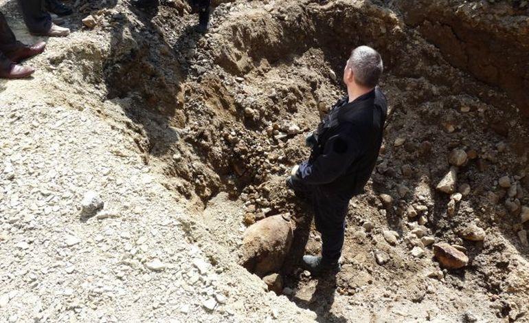 La bombe découverte à Avranches sera désamorcée le 23 juin