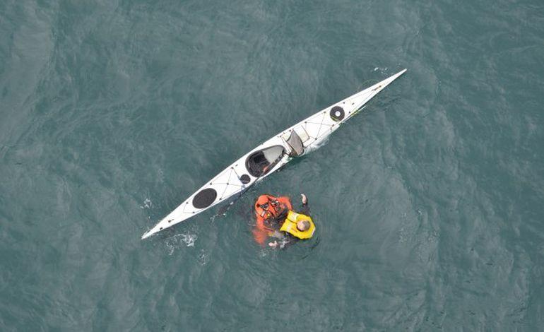 Un kayakiste sauvé au large de Barneville-Carteret