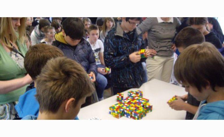Gacé champion de France de Rubik's cubes