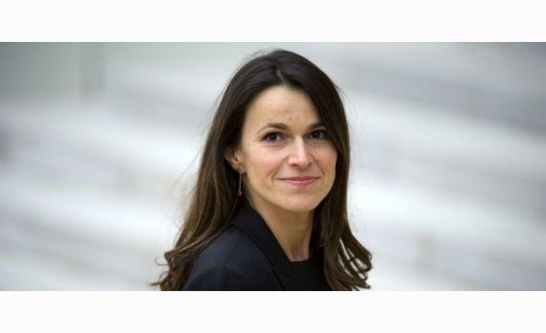 Aurélie Filippetti en visite à Rouen le 24 juin