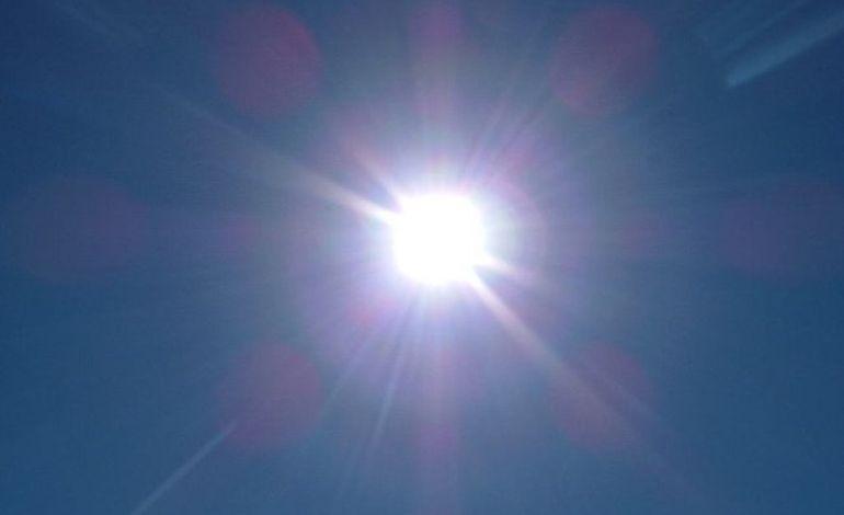 Un pic de chaleur sur la Normandie depuis ce week-end !