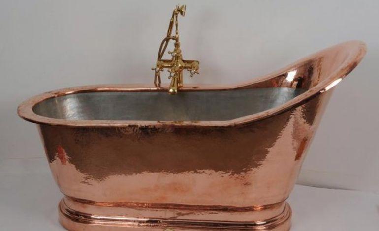 une baignoire en cuivre manchoise new york. Black Bedroom Furniture Sets. Home Design Ideas