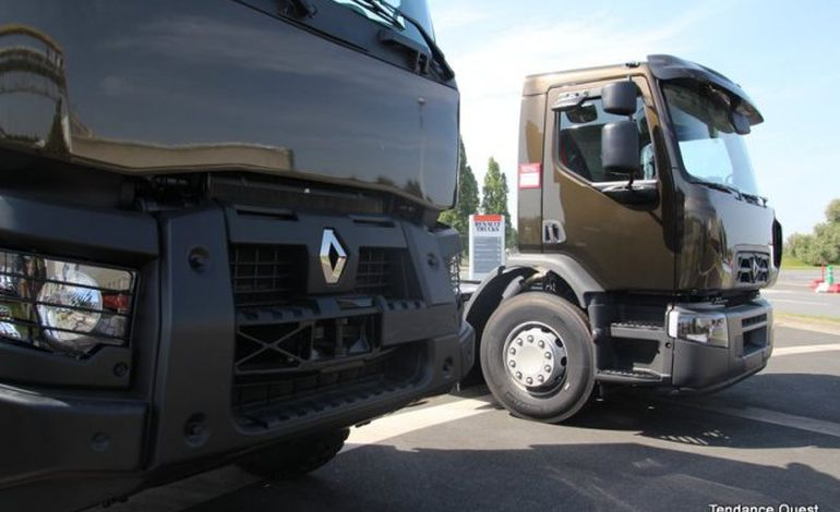 la gamme distribution de renault trucks s 39 installe blainville sur orne. Black Bedroom Furniture Sets. Home Design Ideas